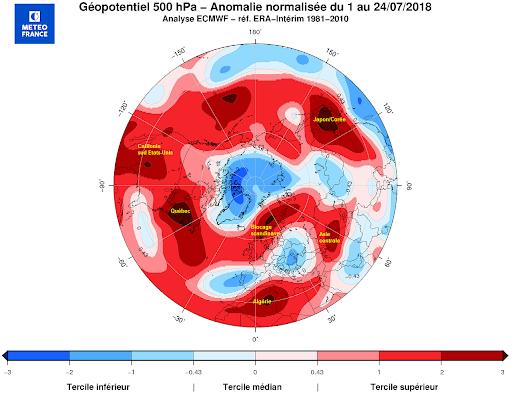 Des records d chaleur dans le monde entier
